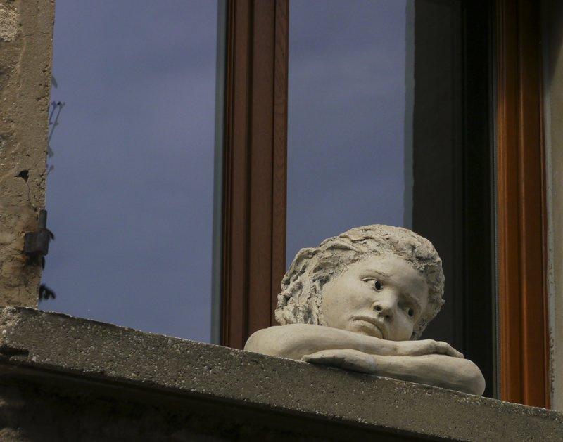 Wistful sculpture